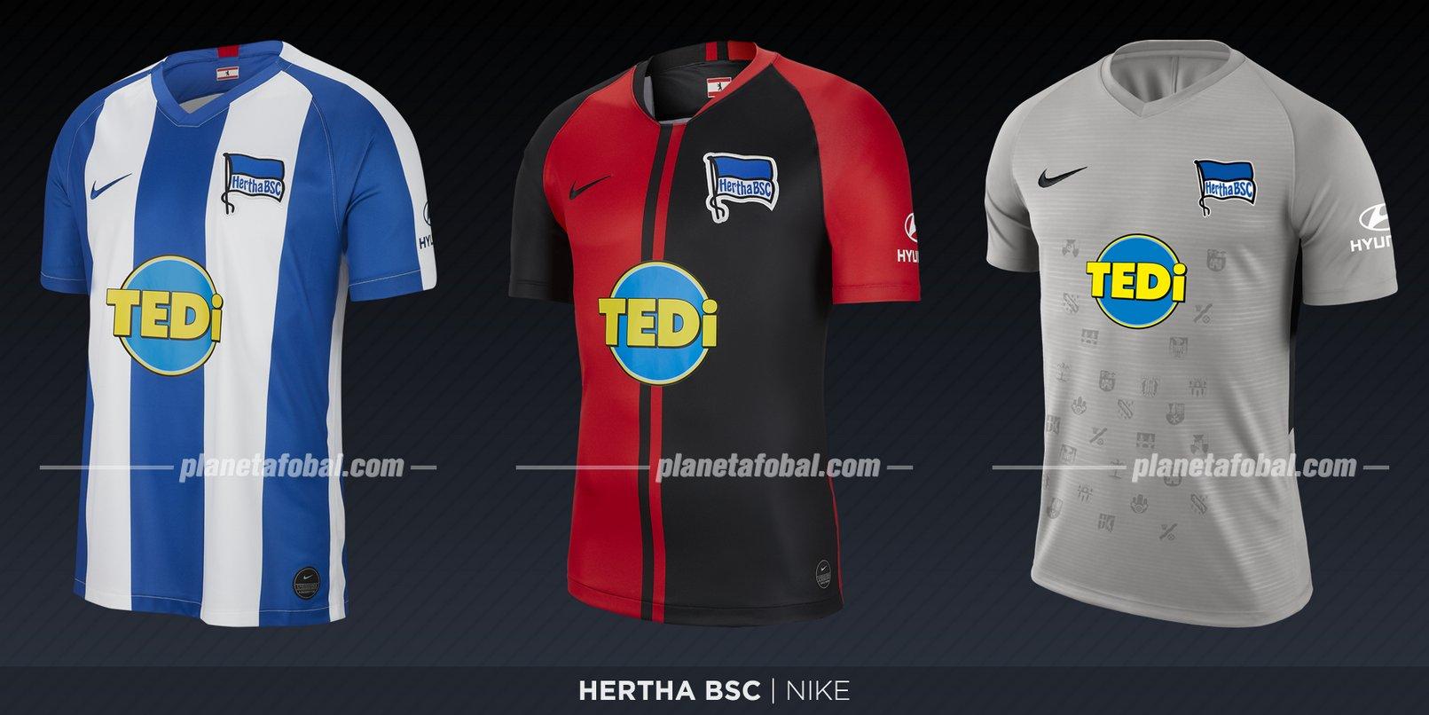 Hertha Berlín (Nike) | Camisetas de la Bundesliga 2019-2020