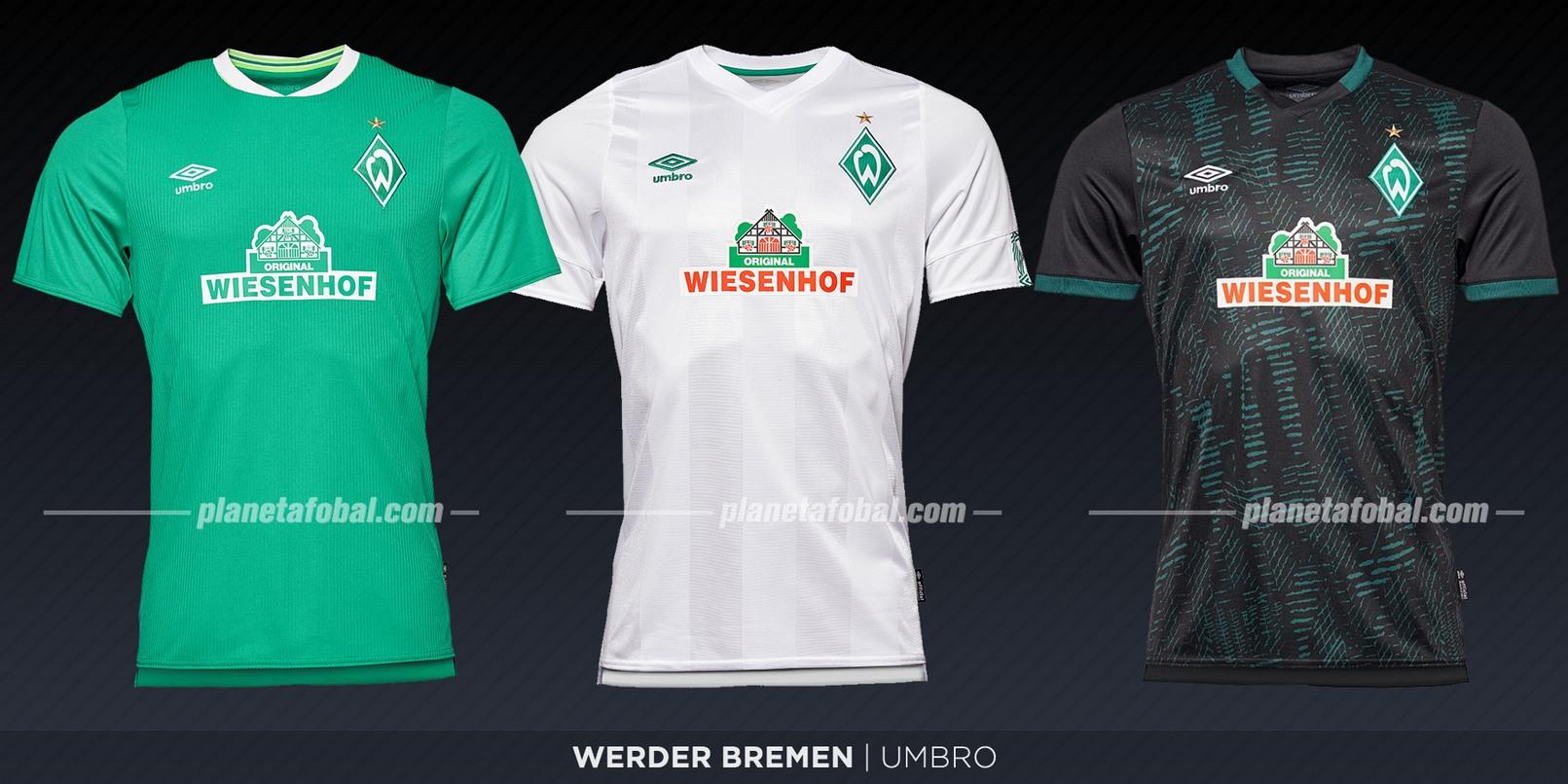 Werder Bremen (Umbro) | Camisetas de la Bundesliga 2019-2020