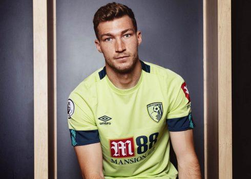 Tercera camiseta Umbro del AFC Bournemouth 2019/20 | Imagen Web Oficial