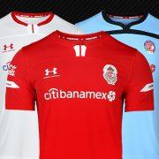 Jerseys del Toluca Temporada 2019/2020 | Imagen Under Armour