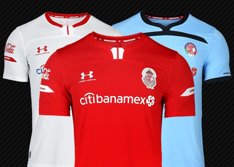 Jerseys del Toluca Temporada 2019/2020 | Imagen Under Armour