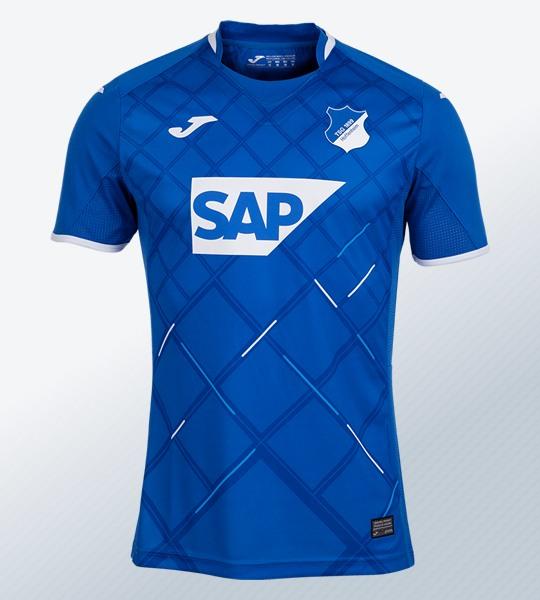 Camiseta titular Joma del Hoffenheim 2019/20 | Imagen Web Oficial