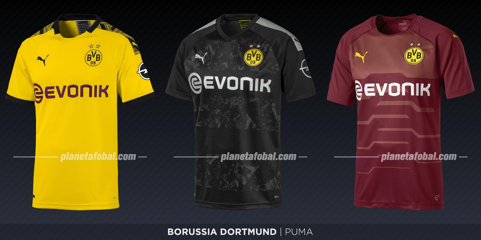Borussia Dortmund (Puma) | Camisetas de la Bundesliga 2019-2020