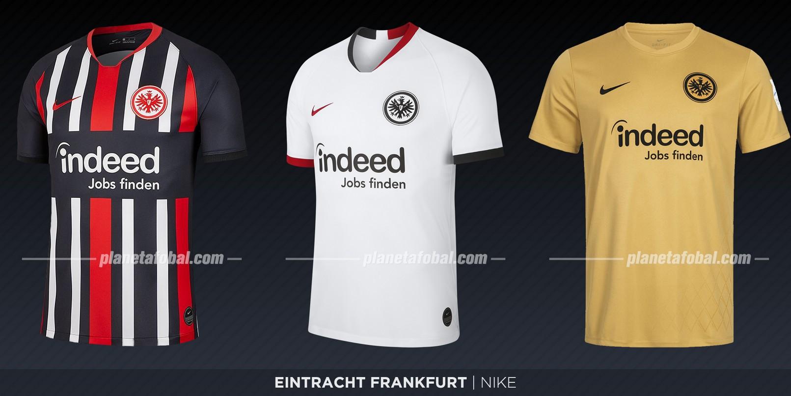 Eintracht Frankfurt (Nike) | Camisetas de la Bundesliga 2019-2020