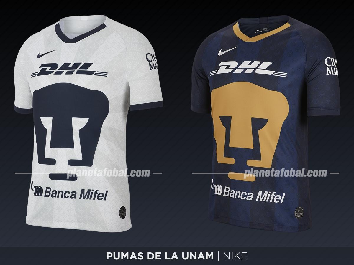 Pumas de la UNAM (Nike) | Camisetas de la Liga MX 2019-2020