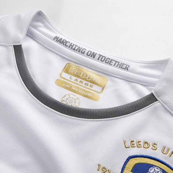 Camiseta Kappa del Leeds United 2019/2020 | Imagen Web Oficial