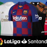 Camisetas de LaLiga de España Temporada 2019-2020   @planetafobal