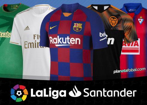 Camisetas de LaLiga de España Temporada 2019-2020 | @planetafobal