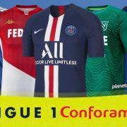 Camisetas de la Ligue 1 de Francia Temporada 2019-2020 | @planetafobal