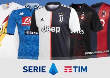 Camisetas de la Serie A de Italia Temporada 2019-2020 | @planetafobal