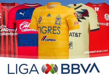 Camisetas de la Liga MX de México Temporada 2019-2020 | @planetafobal