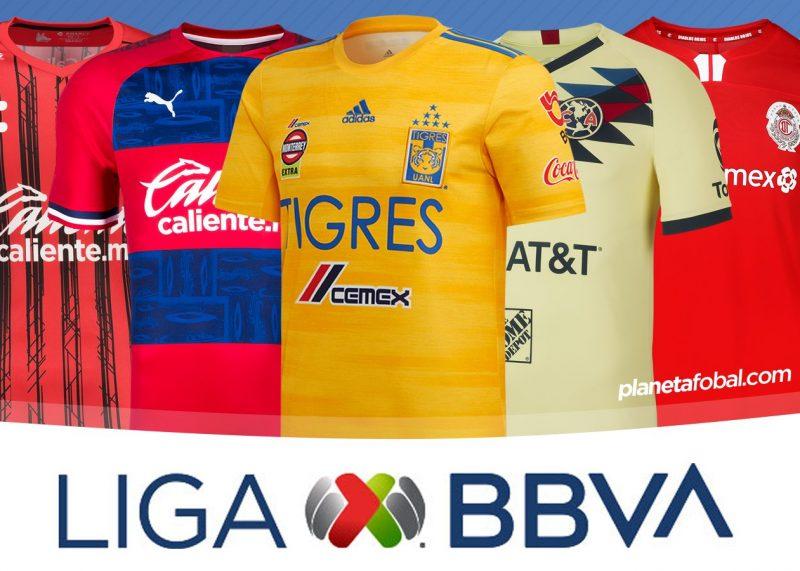 Camisetas de la Liga MX de México Temporada 2019-2020   @planetafobal