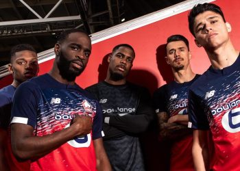 Camisetas New Balance del LOSC Lille 2019/20 | Imagen Twitter Oficial