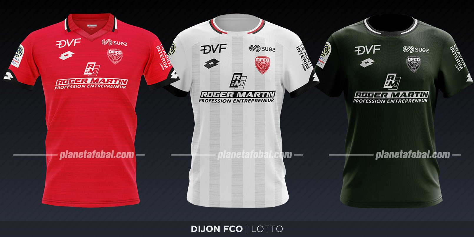 Dijon FCO (Lotto) | Camisetas de la Ligue 1 2019-2020