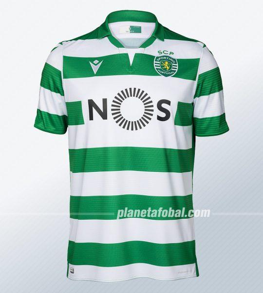Camiseta titular Macron del Sporting CP 2019/20 | Imagen Web Oficial