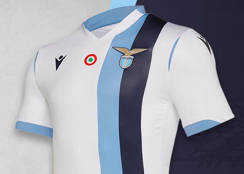 Camiseta suplente Macron de la Lazio 2019/2020   Imagen Web Oficial