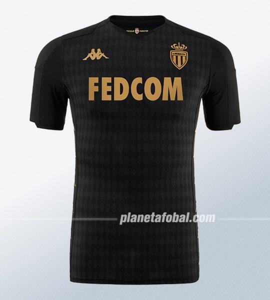 Camiseta suplente Kappa del AS Monaco 2019/2020 | Imagen Web Oficial