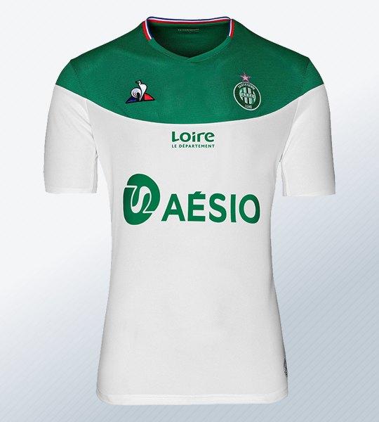 Camiseta suplente le coq sportif del Saint-Étienne 2019/20 | Imagen Web Oficial