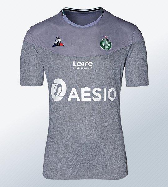 Tercera camiseta le coq sportif del Saint-Étienne 2019/20 | Imagen Web Oficial