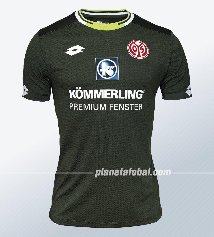 Tercera camiseta Lotto del Mainz 05 2019/20 | Imagen Web Oficial