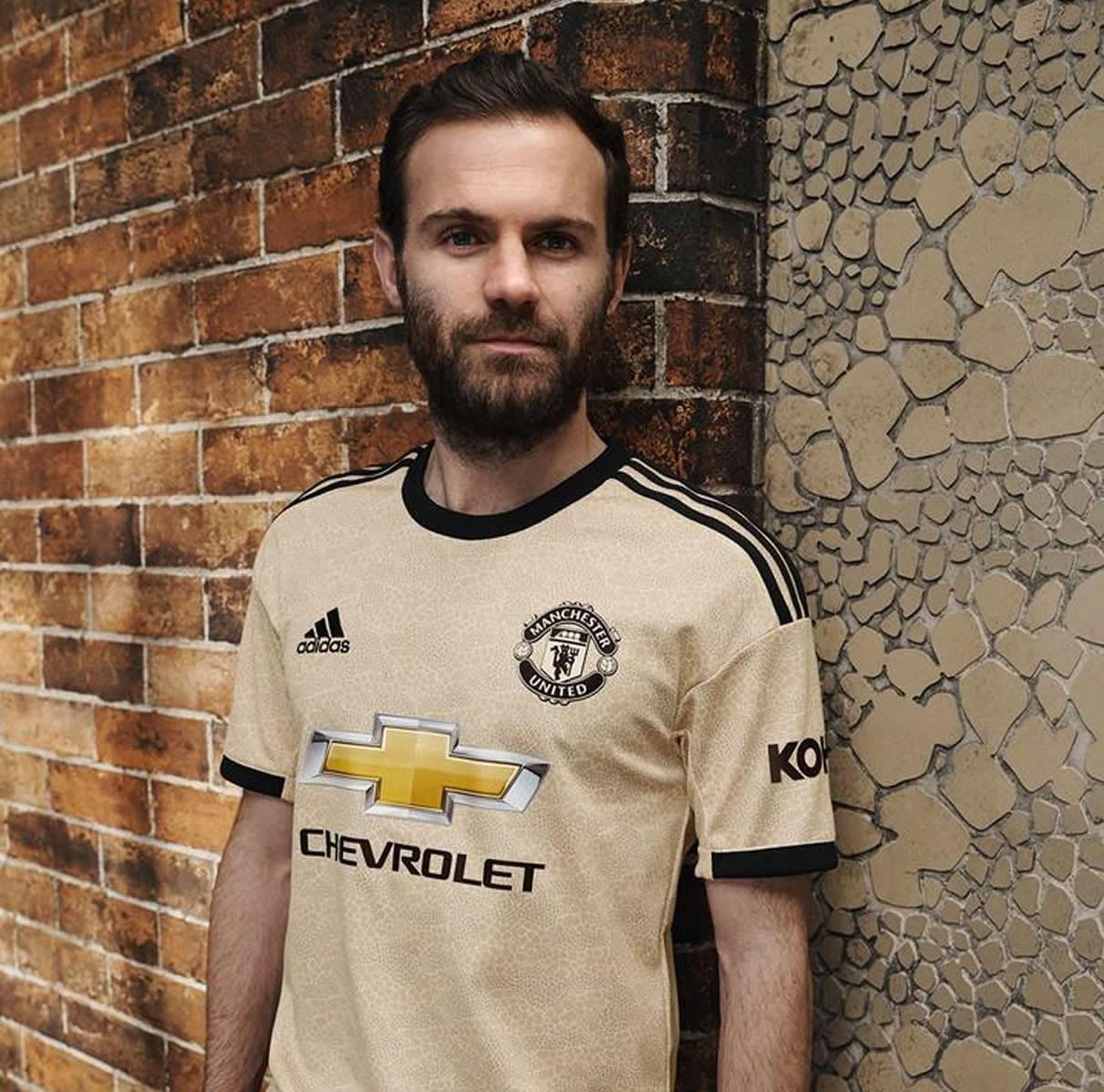 Camiseta suplente Adidas del Manchester United 2019/2020 | Imagen Web Oficial