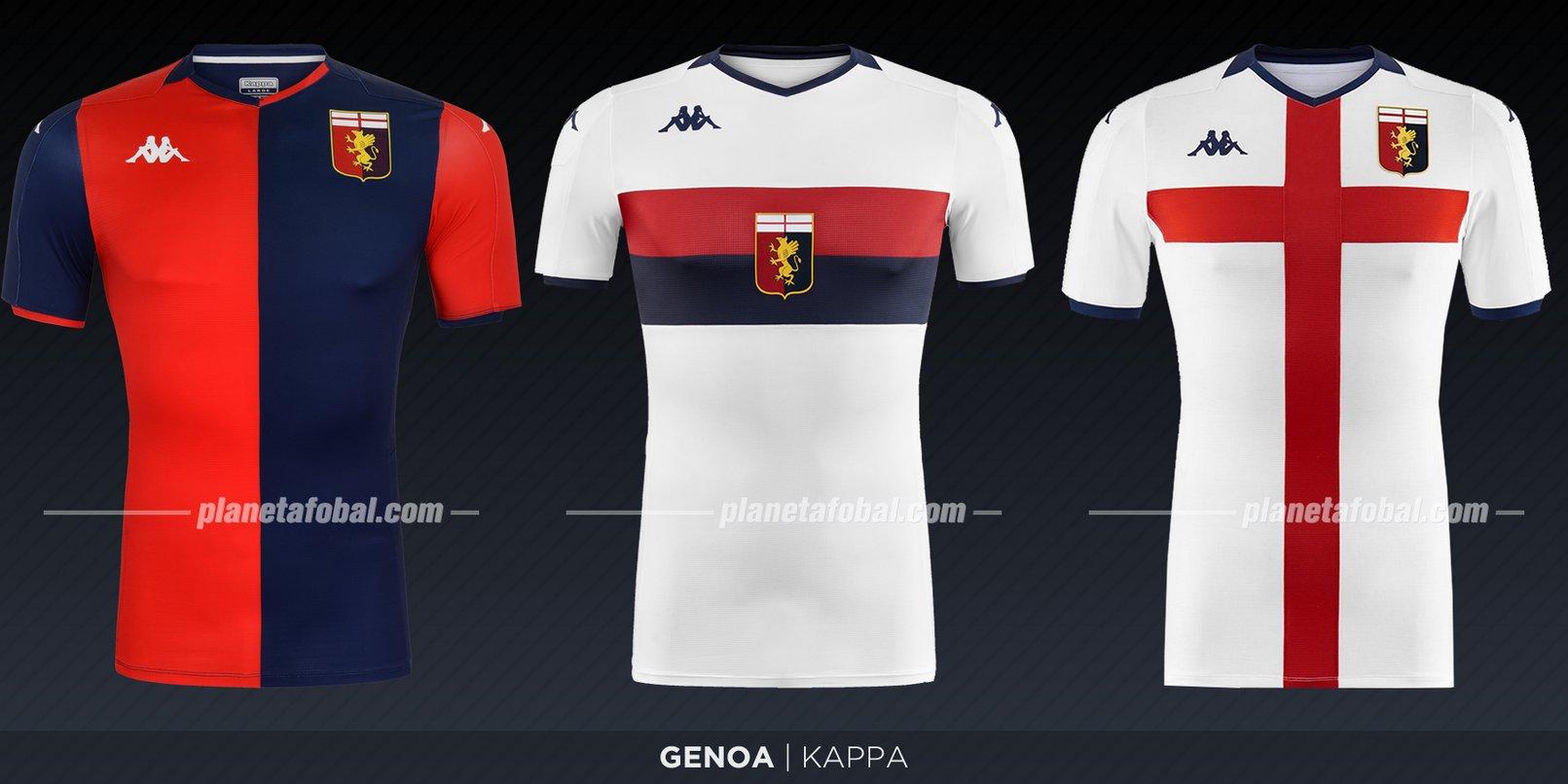 Genoa (Kappa) | Camisetas de la Serie A 2019-2020