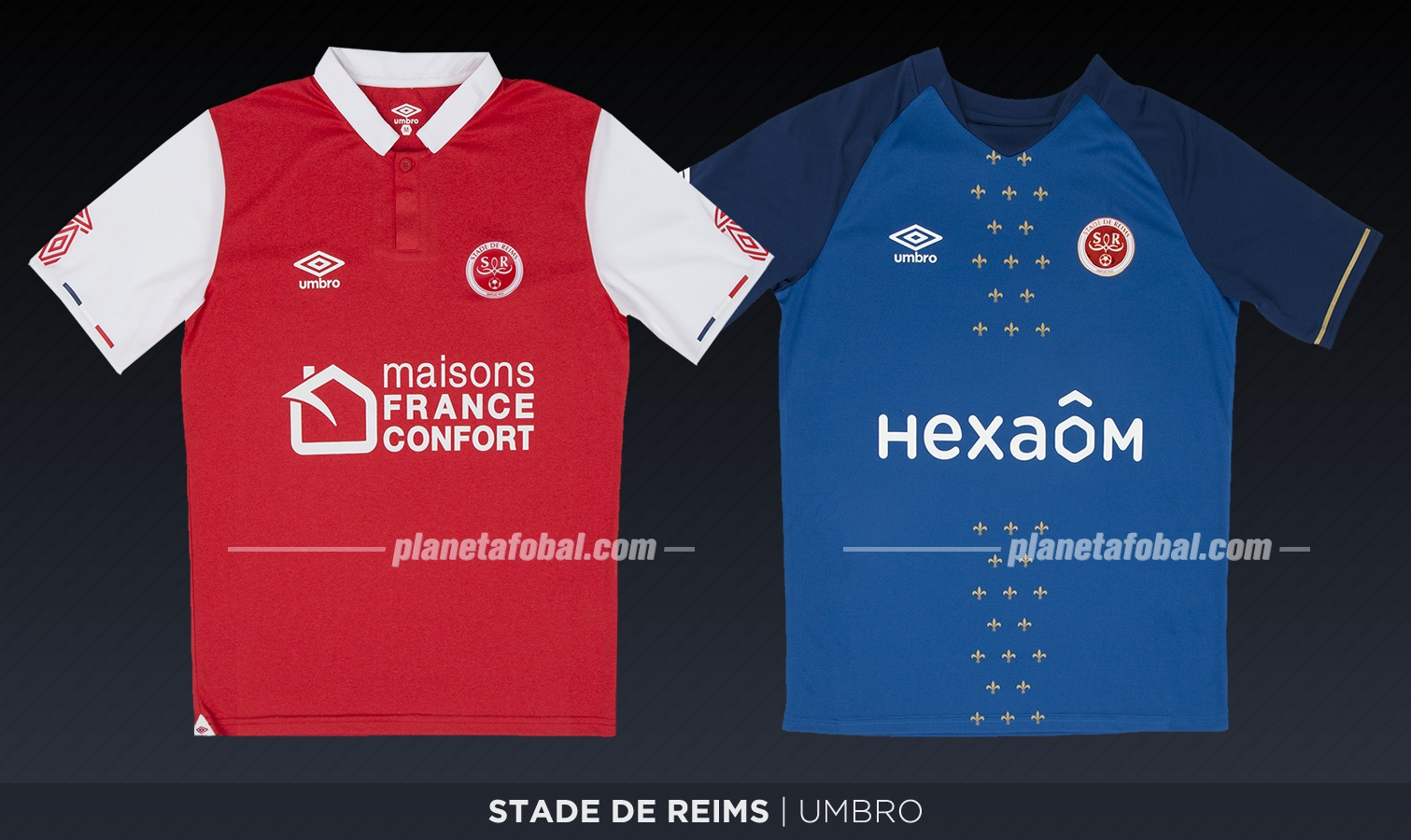 Stade de Reims (Umbro) | Camisetas de la Ligue 1 2019-2020