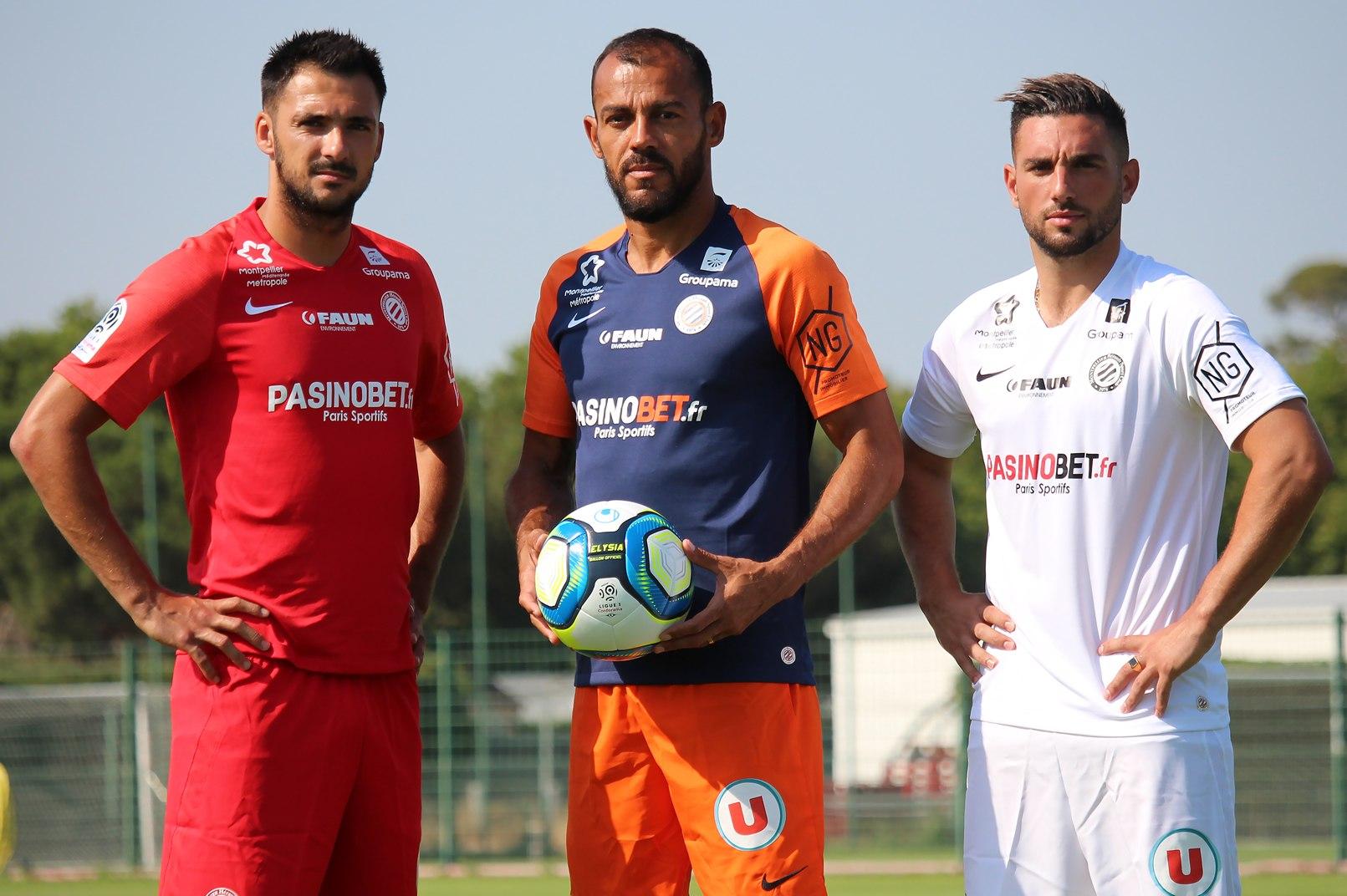 Camisetas Nike del Montpellier 2019/20 | Imagen Web Oficial