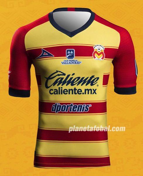 Camiseta local Pirma de los Monarcas Morelia 2019/20 | Imagen Twitter Oficial
