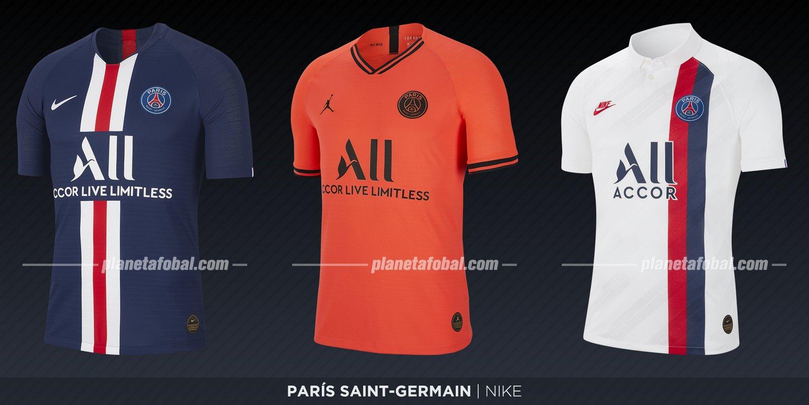 PSG (Nike) | Camisetas de la Ligue 1 2019-2020