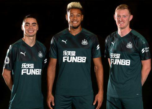 Camiseta suplente Puma del Newcastle 2019/20 | Imagen Web Oficial