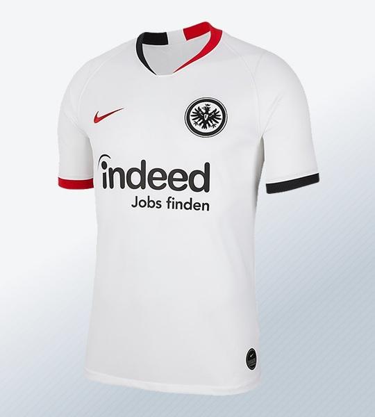 Camiseta suplente Nike del Eintracht Frankfurt 2019/20 | Imagen Web Oficial