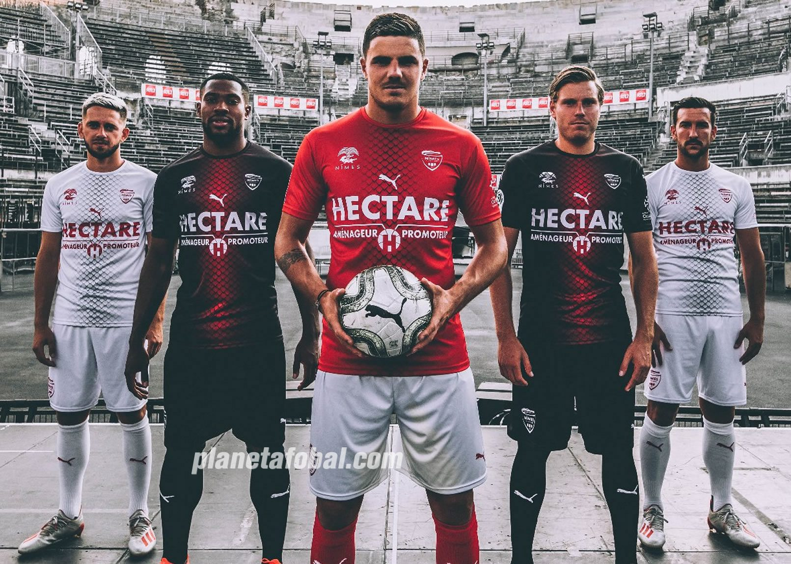 Camisetas Puma del Nîmes Olympique 2019/20 | Imagen Web Oficial