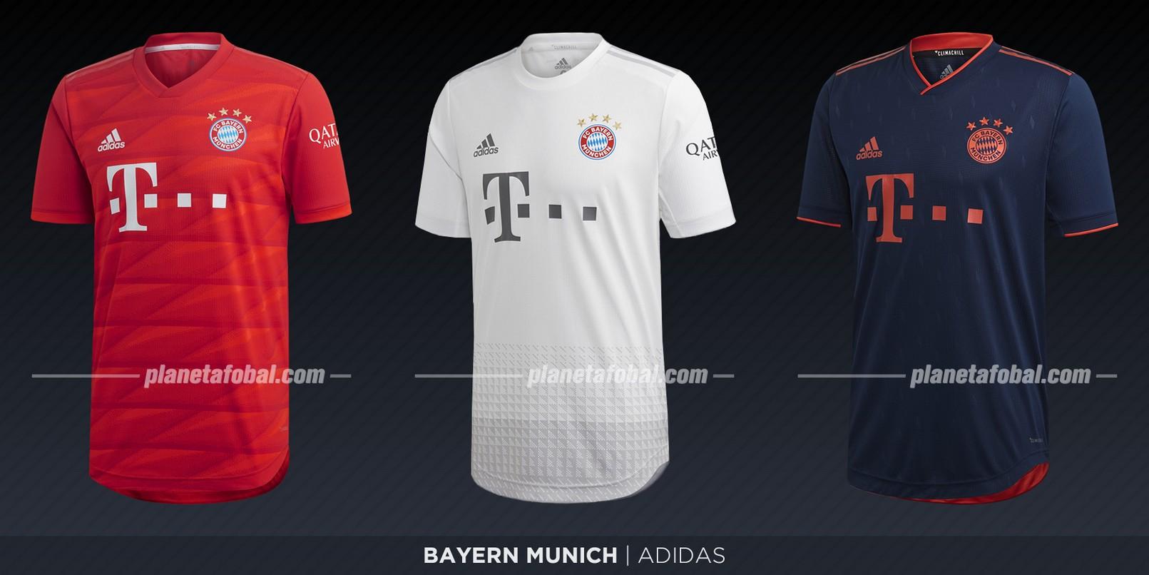 Bayern Munich (Adidas) | Camisetas de la Bundesliga 2019-2020