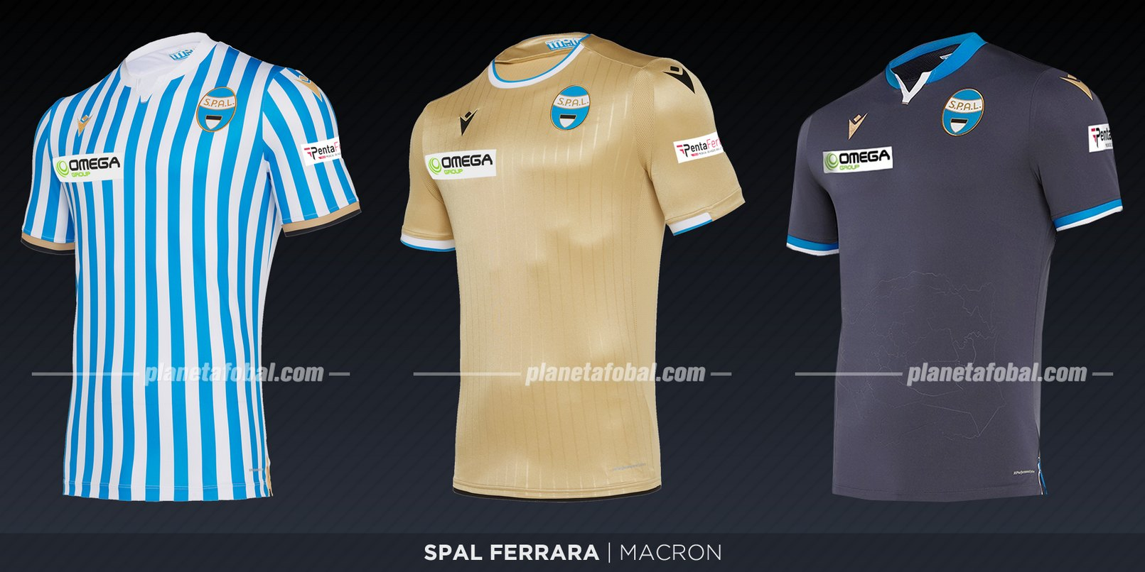 SPAL Ferrara (Macron) | Camisetas de la Serie A 2019-2020