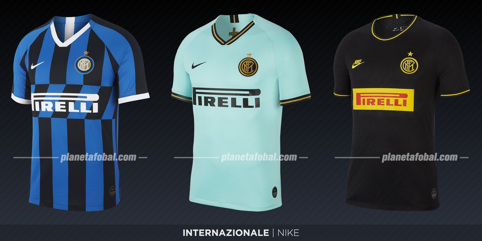 Inter (Nike) | Camisetas de la Serie A 2019-2020