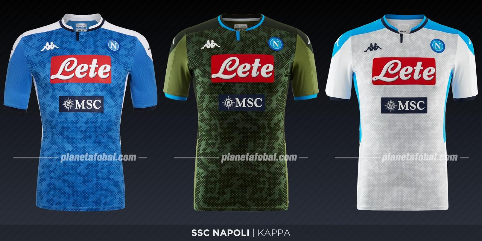 Napoli (Kappa) | Camisetas de la Serie A 2019-2020