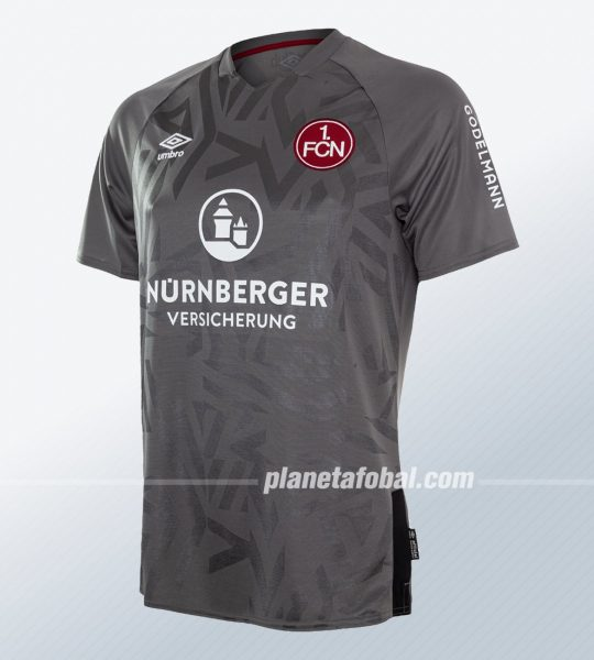 Tercera camiseta Umbro del 1. FC Nürnberg 2019/20 | Imagen Web Oficial