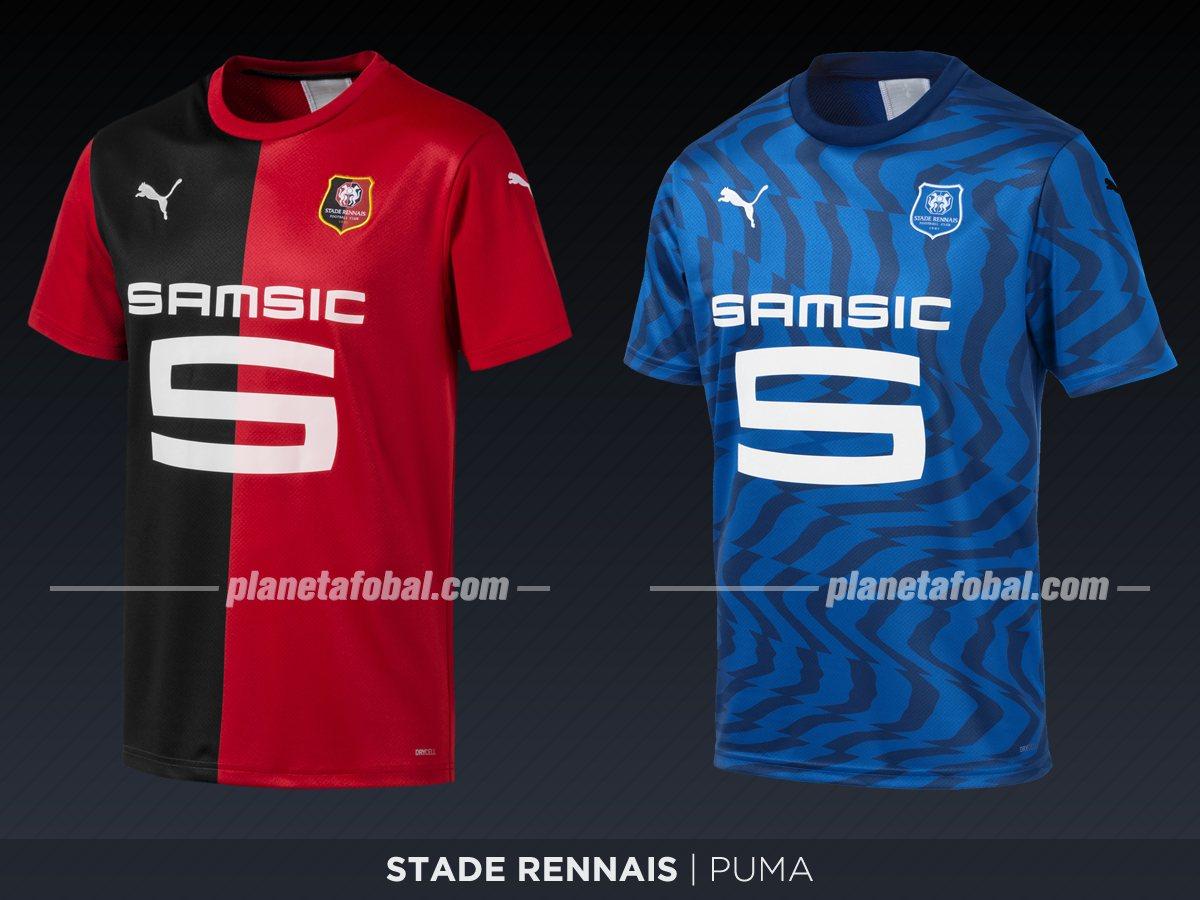 Stade Rennais (Puma) | Camisetas de la Ligue 1 2019-2020