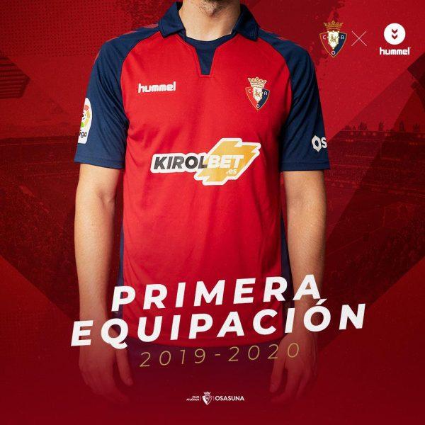 Primera equipación Hummel del Osasuna 2019/20 | Imagen Twitter Oficial