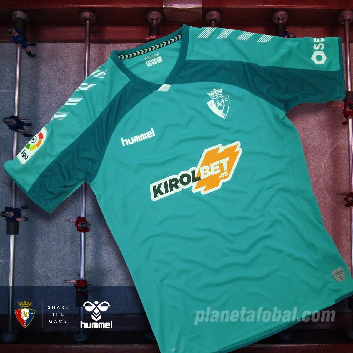 Segunda equipación Hummel del Osasuna 2019/20 | Imagen Twitter Oficial