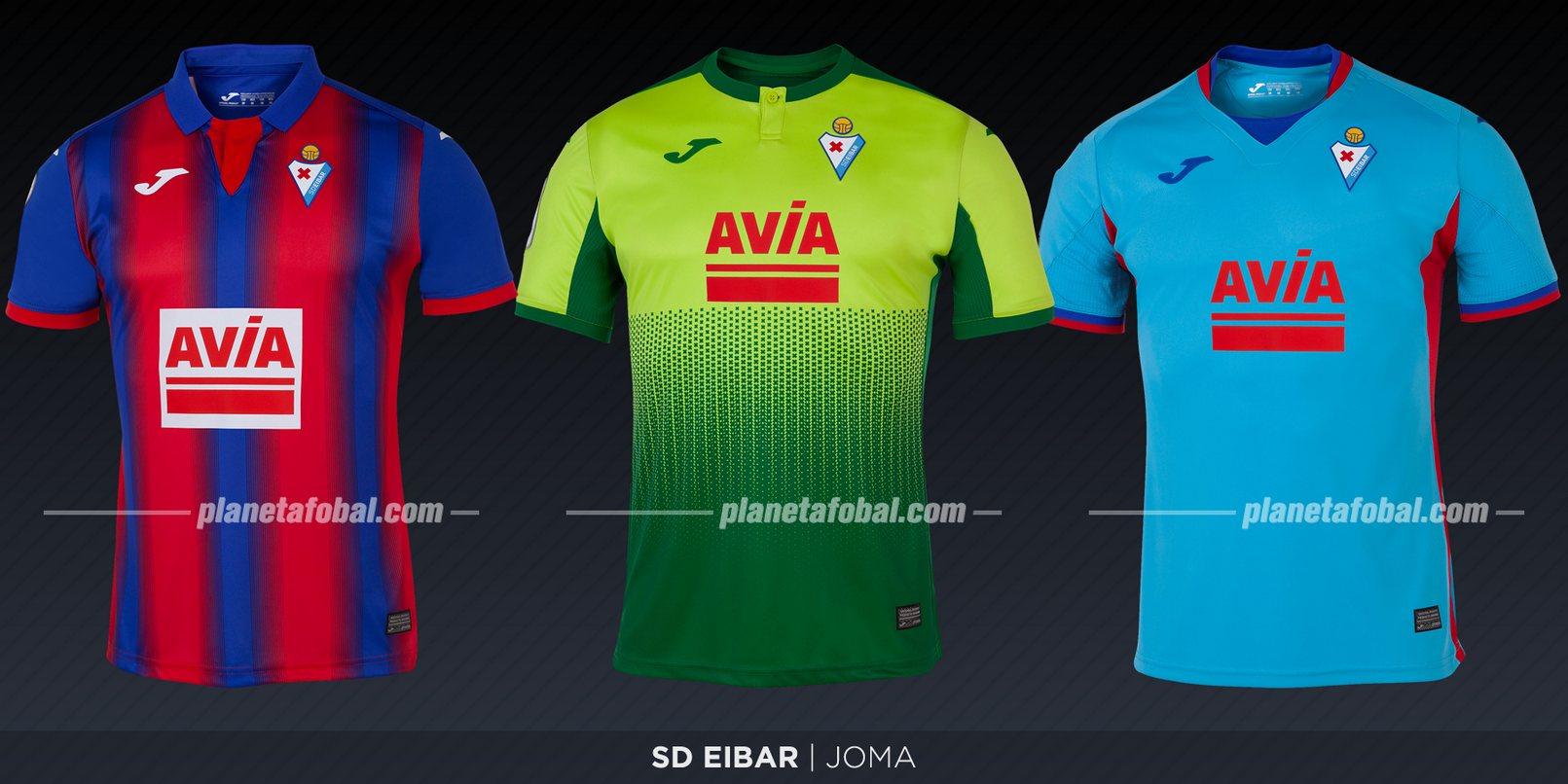 SD Eibar (Joma) | Camisetas de LaLiga 2019-2020