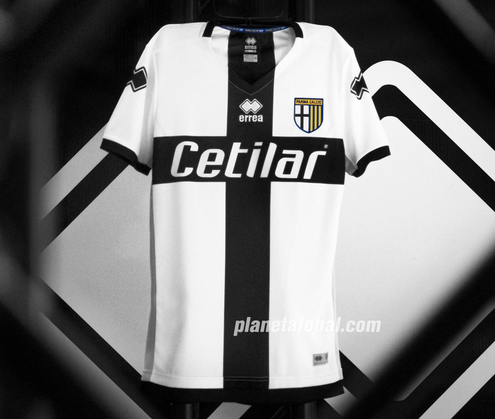 Camiseta titular Erreà del Parma Calcio 1913 2019/20 | Imagen Web Oficial