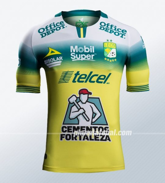 Camiseta visita del Club León 2019/2020 | Imagen Pirma