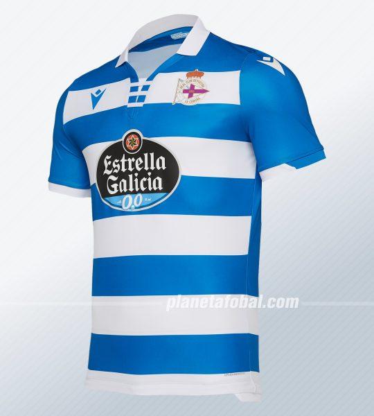 Camiseta titular del Deportivo La Coruña 2019/20 | Imagen Macron