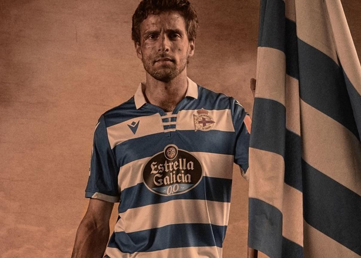 Camiseta Macron del Deportivo La Coruña 2019/20 | Imagen Web Oficial