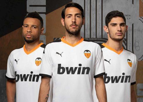 Primera equipación Puma del Valencia 2019/2020 | Imagen Twitter Oficial