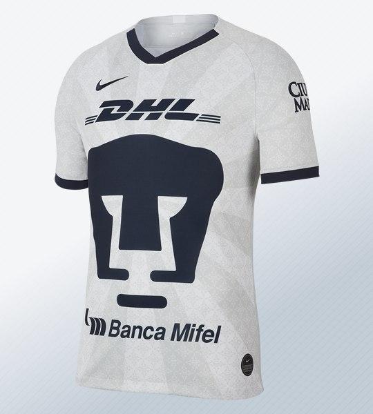 Camiseta titular de los Pumas de la UNAM 2019/2020 | Imagen Nike