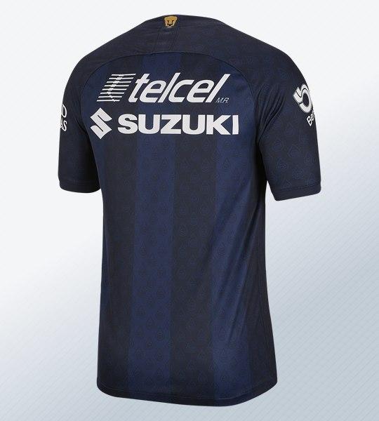 Camiseta visitante de los Pumas de la UNAM 2019/2020 | Imagen Nike