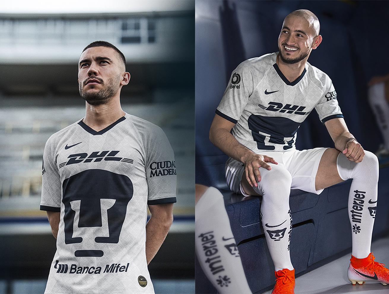 Camiseta titular Nike de los Pumas de la UNAM 2019/2020 | Imagen Web Oficial